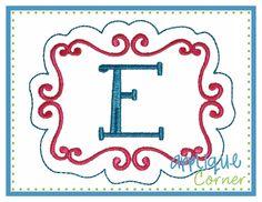 Embroidery Frame 2 Design