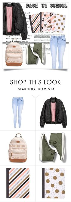 """""""Back To School"""" by laras03 ❤ liked on Polyvore featuring Glamorous, Rip Curl, Keds and Mead"""