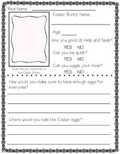 Easter Bunny Applications