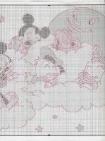 Gallery.ru / Фото #111 - 1 - Fleur55555 Disney Cross Stitch Patterns, Tigger, Map, Sleep Tight, Watch, Cross Stitch, Quilt Cover, Cross Stitch House, Disney Cross Stitches