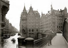 Hamburg-Speicherstadt, Germany, 1932