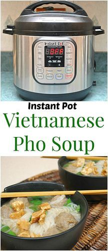 Instant Pot Vietnamese Beef Pho will be your bowl of comfort this winter. A great balance of salty and spicy! | What's Cookin, Chicago?