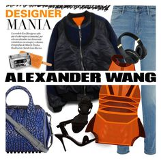 """Designer Mania (Alexander Wang)"" by anita-n ❤ liked on Polyvore featuring Alexander Wang"