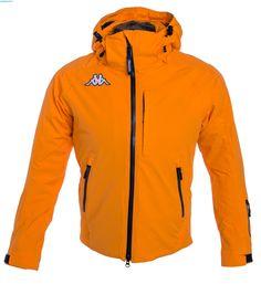 Kappa Men 6Cento 650 Jacket – Orange