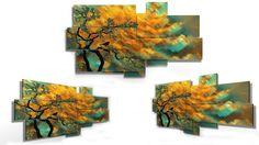 8 pieces wall art -184x100 cm