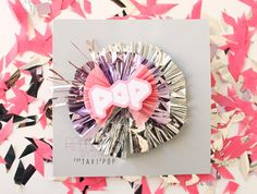 """Confetti System (would go great with the """"ready to pop"""" baby shower theme!"""