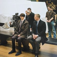 behind the scenes Rachel Weisz, Indie Movies, Old Movies, James Bond Style, Sam Mendes, Herzogin Von Cambridge, Ben Whishaw, Daniel Craig James Bond, Best Bond