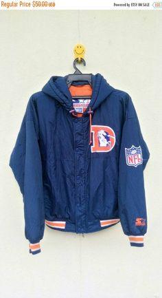 SaleSale Vintage Denver Broncos Hoodie Jacket By by vintage8090