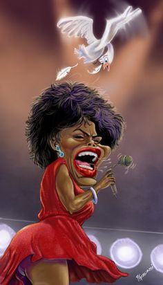 Tina Turner FOLLOW THIS BOARD FOR GREAT CARICATURES OR ANY OF OUR OTHER CARICATURE BOARDS. WE HAVE A FEW SEPERATED BY THINGS LIKE ACTORS, MUSICIANS, POLITICS. SPORTS AND MORE...CHECK 'EM OUT!! Anthony Contorno Sr