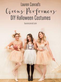 Hocus Pocus: My DIY Circus Performer Halloween Costumes - .- Hocus Pocus: Meine DIY Circus Performer Halloween-Kostüme – New Ideas costumes -