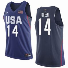 Team USA Basketball 15 Carmelo Anthony Navy Nike Stitched Jersey ... 24fd8a343