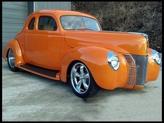 1940 Ford Coupe Street Rod 427/500 HP, Automatic for sale by Mecum Auction