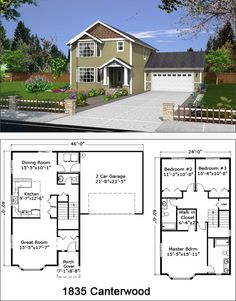 Custom Home Builders Custom Built Homes, Custom Home Builders, American Houses, Sims 4 Houses, Tiny House Movement, New House Plans, Future House, Building A House, New Homes