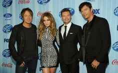 CAN'T FAKE THE FRIENDSHIP: 'AMERICAN IDOL' JUDGES REALLY LIKE EACH OTHER  #AmericanIdol #AmericanIdolXII #JenniferLopez #KeithUrban #HarryConnickJr #RyanSeacrest #FOX #FOXBroadcastingCompany #FBC