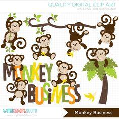 Imágenes Prediseñadas Monkey Business Digital Clip Art
