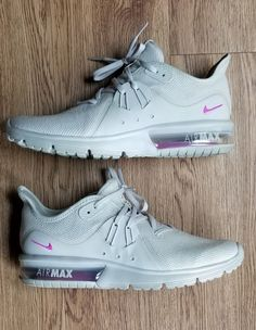 buy online 9dd04 d87f7 Women Athletic Sneakers Nike Running Shoes Air Max Sequent 3 L Beige AJ0006  005  Nike