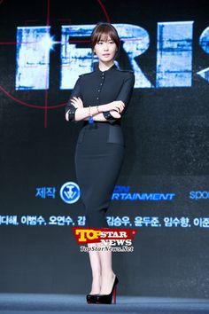 """이다해(Lee Da Hye), """"전작 의식 안하려 최대한 노력하고 있어"""" … 아이리스 Ⅱ 쇼케이스 현장 [KSTAR PHOTO]"""