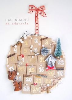 Calendario de Adviento de Ahora también mamá
