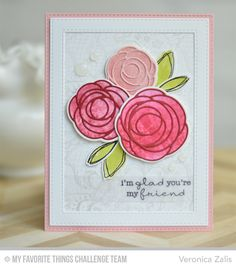 Delicate Pretty Poppies, Scribble Roses, Lace Background, Scribble Roses Die-namics, Scribble Roses Overlay Die-namics, Stitched Rectangle Frames Die-namics - Veronica Zalis  #mftstamps