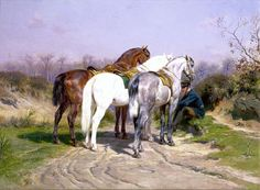 Currently on view at the St Louis Art Museum, this is a good example of Rosa Bonheurs skill at depicting horses.