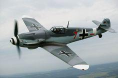"twoandahalfwars: ""rocketumbl: "" Bf109G-4 "" Beautifully preserved. """