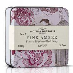 Pink Amber THE SCOTTISH FINE SOAP COMPANY