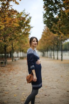 Winter outfit pregnant women – The Brunette