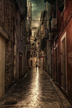 Memories of Dalmatia XVIII; photograph by Michela Riva. Zadar, Croatia