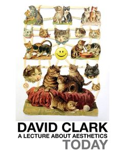 TODAY AT ARTBAR  David Clark: The Smile without the Cat: A Lecture about Aesthetics . The Smile without the Cat: A Lecture about Aesthetics is a performance examining the smile and an array of cultural scientific and historical ideas that surround our understanding of this innate human gesture. I am particularly interested in how the smile has become embodied in our language our culture and our technology. The script for this work touches on subjects such as: Real Smiles and False Smiles The…