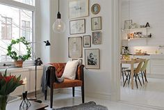Gallery wall . . .
