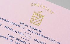 Anagrama: Checklist