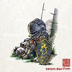 Dark Souls - Knight of Astora
