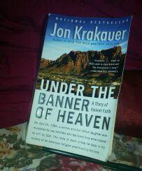 Under the Banner of Heaven: A Story of Violent Faith: Jon Krakauer Good Books, Banner, Heaven, Faith, Reading, Group, Amazon, Banner Stands, Sky