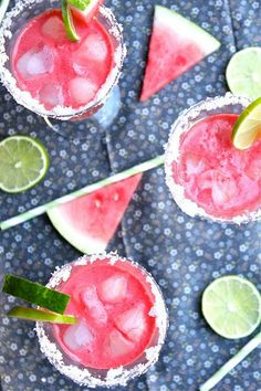Watermelon Margarita's