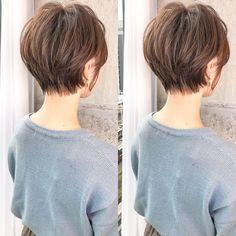 100 popular short haircuts 2018 2019 mykinglist com 635992778610780685 Popular Short Haircuts, Short Hairstyles For Thick Hair, Short Hair With Layers, Short Hair Cuts For Women, Cool Hairstyles, Short Hair Styles, Short Bob Thick Hair, Cute Short Haircuts, Latest Hairstyles