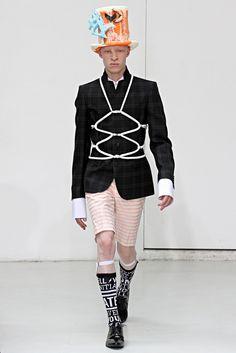 Walter Van Beirendonck - Spring 2013 Menswear - Look 1 of 34