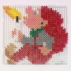 Hama Beads Design, Hama Beads Patterns, Beading Patterns, Christmas Perler Beads, Christmas Cross, Christmas Diy, Xmas Elf, Kids Crafts, Diy And Crafts