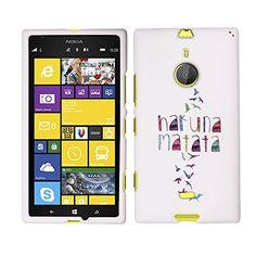 Fincibo (TM) Nokia Lumia 1520 Bandit Protector Cover Case Snap On Hard Plastic - Freedom Hakuna Matata, Front And Back Fincibo http://www.amazon.com/dp/B00J3LP5D4/ref=cm_sw_r_pi_dp_-hPwub0Q400HM