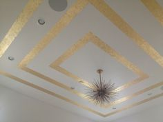 Closet ceiling...it's so big and pretty!