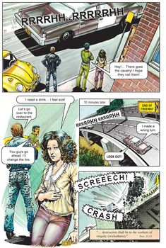 Angel of Light excerpt Wrong Turn, Priest, Angel, Guys, Comics, Cartoons, Sons, Comic, Comics And Cartoons