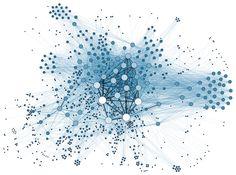 Social Network Analysis Visualization - Data visualization - Wikipedia, the free encyclopedia 3d Data Visualization, Information Visualization, Graph Database, Student Data, Web Design, Design Trends, Design Art, Use Case, Data Science