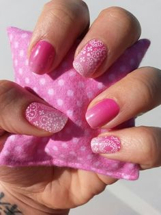 Kiss Me Ombre layered with Whisper on top. Kiss Me Ombre will retire August 31st, 2015 so be sure to buy it before it's gone for good! Click my link to buy these and more :)  http://kristinabratka.jamberrynails.net