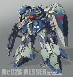 Real Robots, Gundam Art, Mecha Anime, Mechanical Design, Gundam Model, Model Kits, Mobile Suit, Concept Art, Cartoon