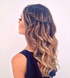 Peinados muy bonitos trenzados para damas #bonitos #damas #peinados #Trenzados