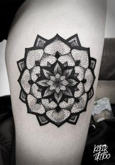 Tattoo dots mandala…love the deaign!