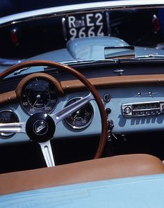 1955 - Lancia Aurelia B24 Spyder America. Maintenance/restoration of old/vintage vehicles: the material for new cogs/casters/gears/pads could be cast polyamide which I (Cast polyamide) can produce. My contact: tatjana.alic@windowslive.com