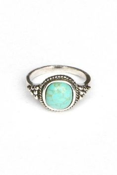 turquoise ring. I need a replacement for the TWO i've lost over the last few years!