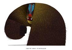 skunk fu and more by Marie Thorhauge, via Behance