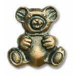 Buck Snort Lodge Cabinet Knobs and Pulls - Ted E Bear