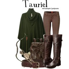 Tauriel by rernuslupin on Polyvore featuring Antonio Marras, BOSS Orange, Frye and Isabel Marant
